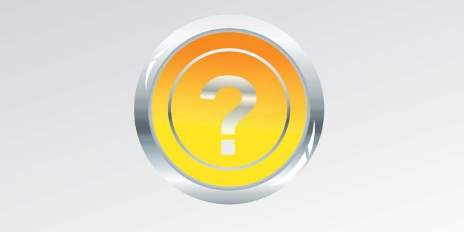 Icons of questionmarks (headers) for our FAQs articles.